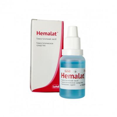 Кровоспинний засіб Гемалат (Hemalat), 20 ml