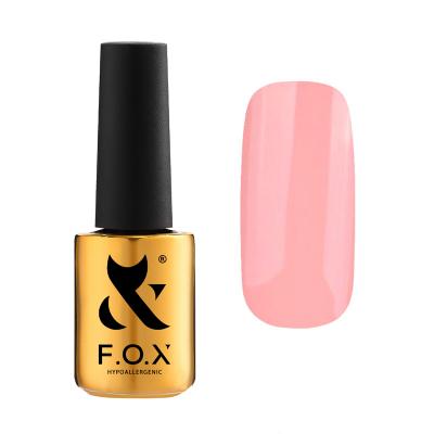 Гель-лак FOX gel-polish gold Pigment 068, бежевый, 7 ml