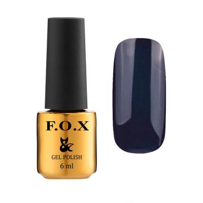 Гель-лак FOX gel-polish gold Pigment 191, синий, 7 ml