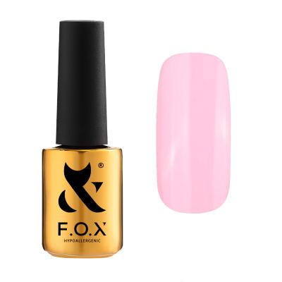 Гель-лак FOX gel-polish gold Pigment 422, розовый, 7 ml