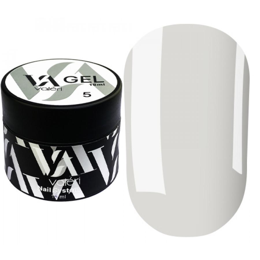Гель для нарощування нігтів Valeri Builder Gel 005, 15 ml (Clear)