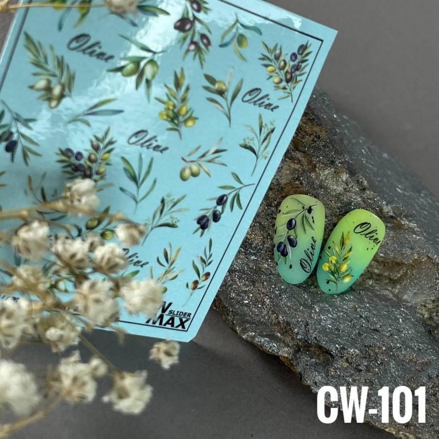 CW - 101 Слайдер-дизайн NEW MAX олива, листя