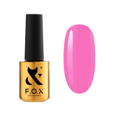 Гель-лак FOX gel-polish Pink Panther 004 розовый, 7 ml