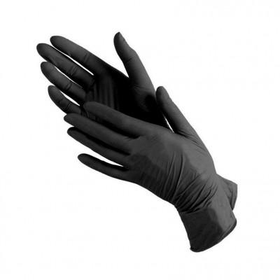 Перчатки Медиком, черные, размер М, пара