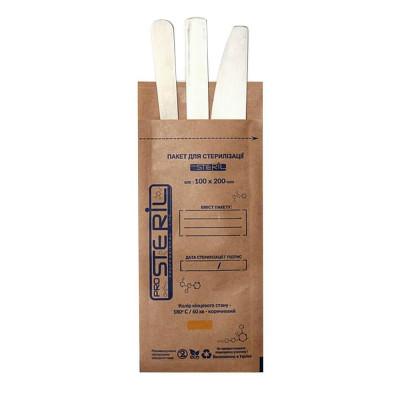 Крафт-пакеты для стерилизации инструментов PRO STERIL 100х200, упаковка